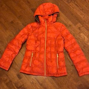Michael Kors Short Packable Down Coat